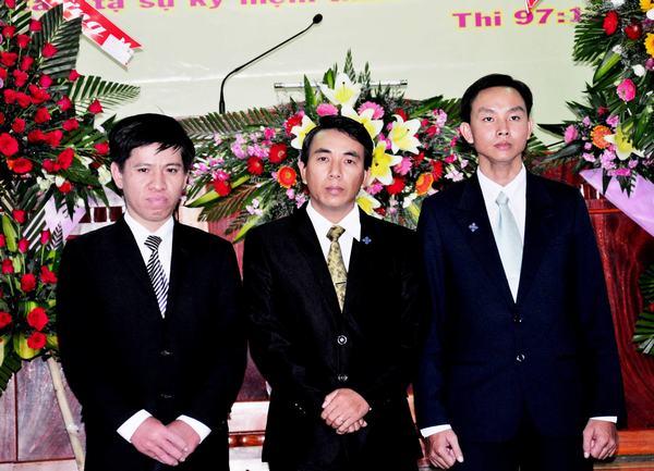 Các Tân Mục sư Nhiệm chức