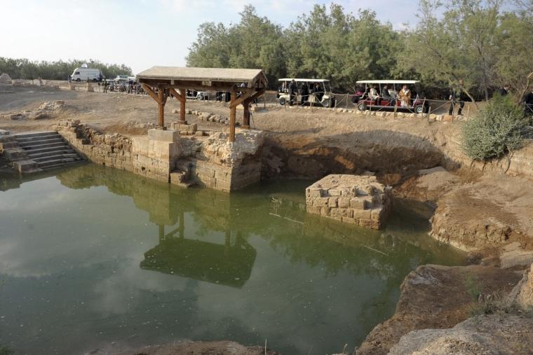 Khu vực làm phép Báp-tem tại Jordan được UNESCO công nhận di sản thế giới.