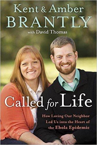 Bìa của cuốn sách chia sẻ về câu chuyện nghe theo tiếng kêu gọi từ Chúa của bác sỹ Kent Brantly.