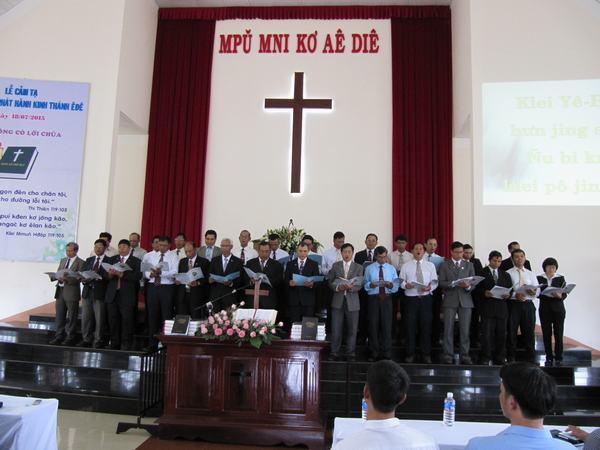 Ban hát Mục sư Truyền đạo tôn vinh Chúa