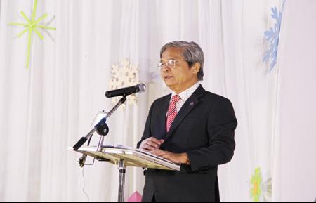Mục sư Nguyễn Bích Sơn chia sẻ lời Chúa