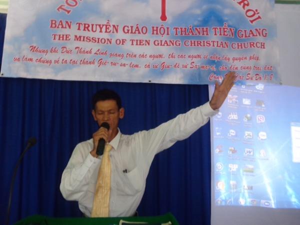 Mục sư Nguyễn Văn Hải Bằng cầu nguyện ban phước