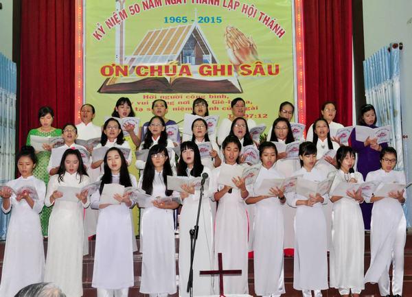 Ban hát Phụ nữ Hội Thánh Võ Đắt