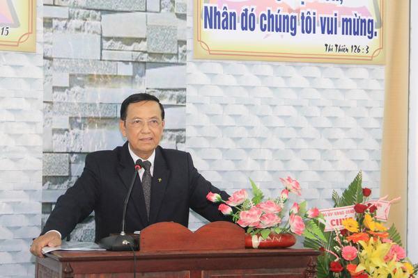 MS Phan Ân chia sẻ Lời Chúa và cử hành Nghi thức Bổ nhiệm