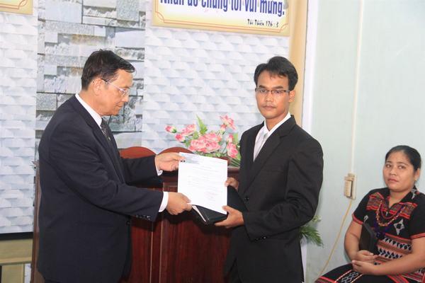 Trao Giáo vụ lệnh cho TĐ Kỳ Xuân Ninh