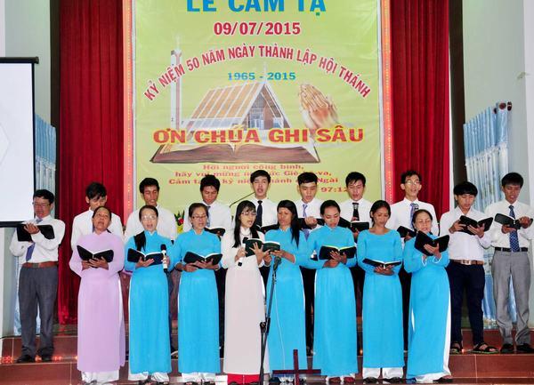 Ban hát Hội Thánh Trà Tân