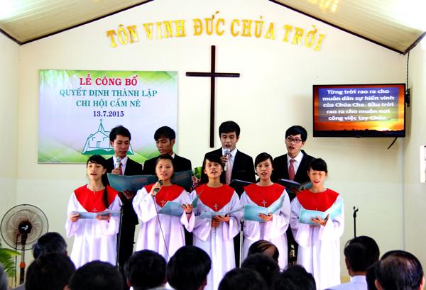Ban hát Thanh thiếu niên tôn vinh Chúa