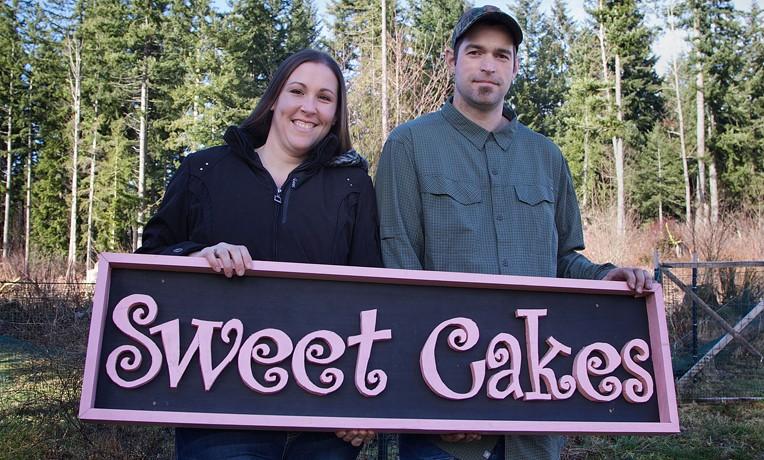 Vợ chồng Aaron Klein và Melissa Elaine.