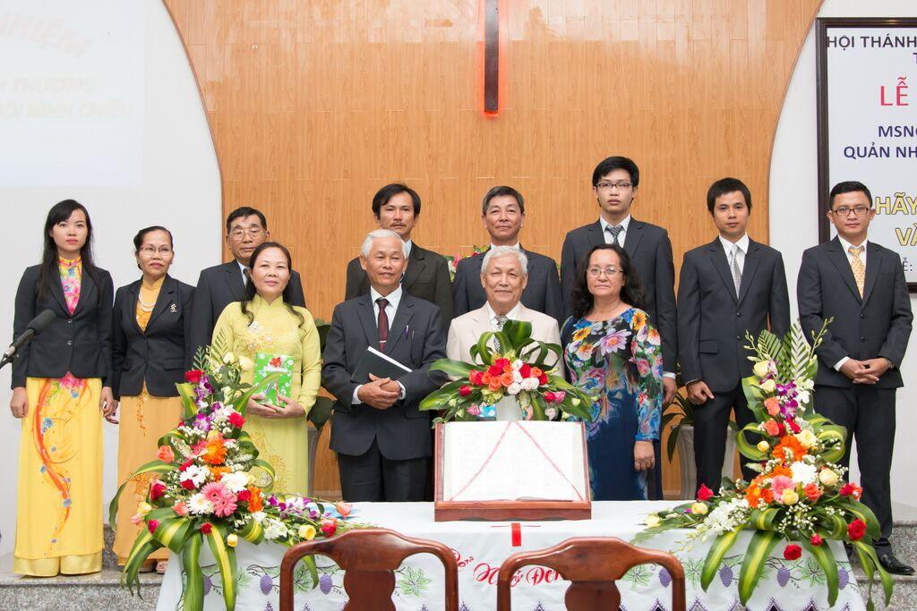 Ban Chấp sự HT Bình Chiểu hoan nghênh Tân Quản nhiệm