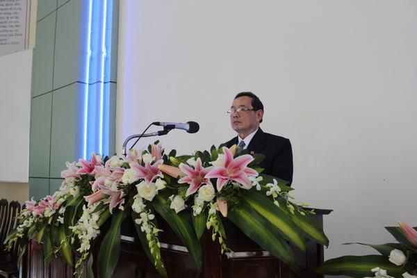 Mục sư Nguyễn Ngọc Thuận cử hành nghi thức Tấn phong Mục sư