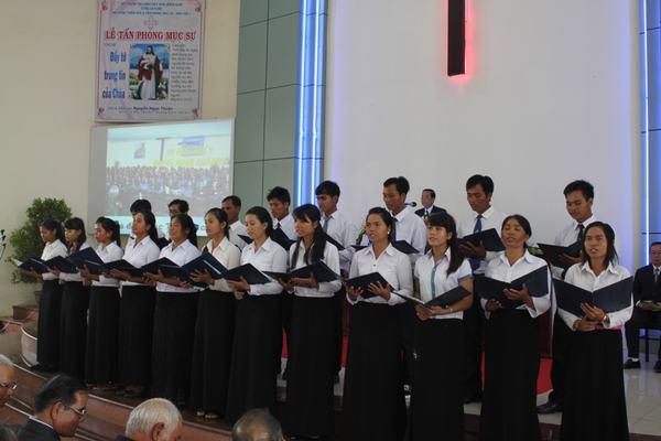 Gia đình các MSNC cầu phong đã góp phần tôn vinh Chúa