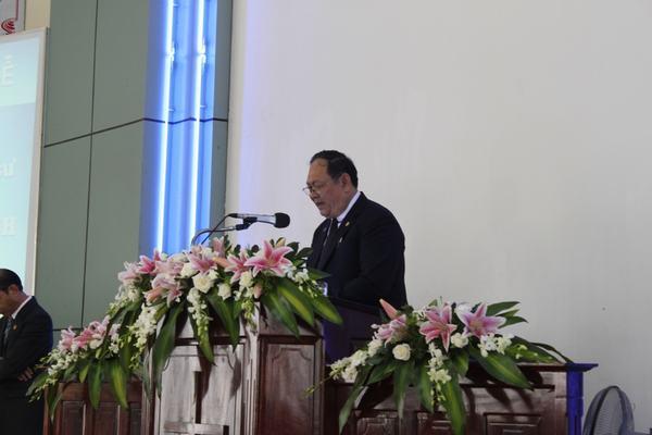 Mục sư Võ Thành Phê - UV. TLH, Mục vụ Đắk lắk cầu nguyện tất lễ