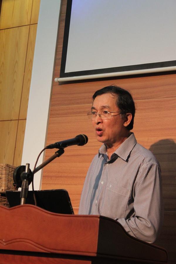 Thầy Phạm Xuân Trí chia sẻ trong chương trình