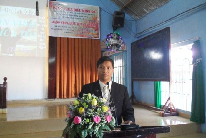 TĐ. Liêng Jrang Ly Sê hướng dẫn chương trình