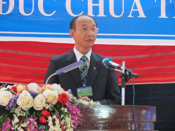 MS Nguyễn Hữu Bình – Phó Hội trưởng II giảng Lời Chúa.