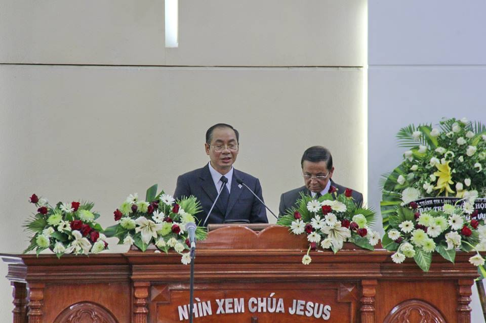 MSNC Nguyễn Hải Bằng, Uỷ Viên Ban Đại Diện đọc Lời Chúa.