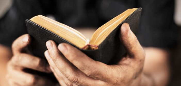 Bible-in-hand