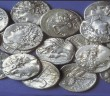 663. A HORDE OF TYREAN SILVER SHEKELS