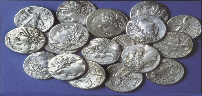 663. A HORDE OF TYREAN SILVER SHEKELS