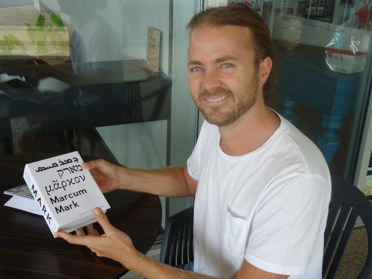 Người sáng lập của ứng dụng Parallel Bible, Andrew Breitenberg.