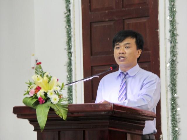 MSNC Võ Quang Nhật giảng Tin Lành.