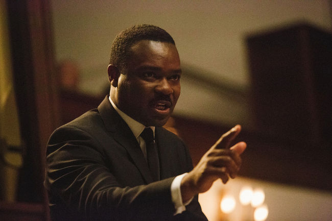 David Oyelowo trong vai Martin Luther King trong bộ phim Selma.