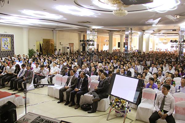 Buổi lễ có sự diện hiện đông đảo của quý Tôi Con Chúa, quan khách và cộng đồng tín hữu Tin Lành khu vực Hải Phòng.
