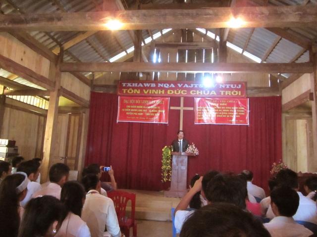MSNC Triệu Phúc Tiến Giảng Lời Chúa.