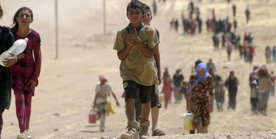 Biết bao cảnh đời tại Syria và Iraq đang rơi vào nguy hiểm vì sự hoành hành của IS.