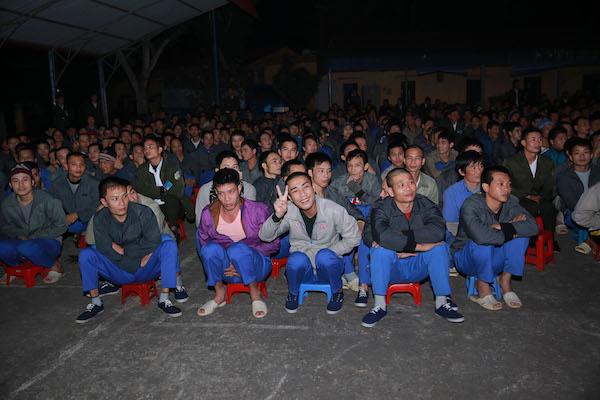 Học viên Thung tâm giáo dục lao động Xã hội 01.