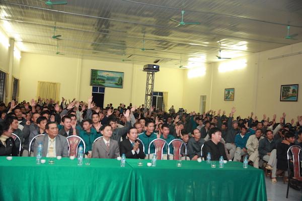 Truyền giảng tại Trung tâm giáo dục lao động Xã hội 07.