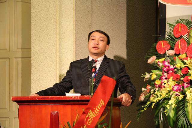 Mục sư Nguyễn Đức Đồng, Tổng Thư ký cảm ơn.