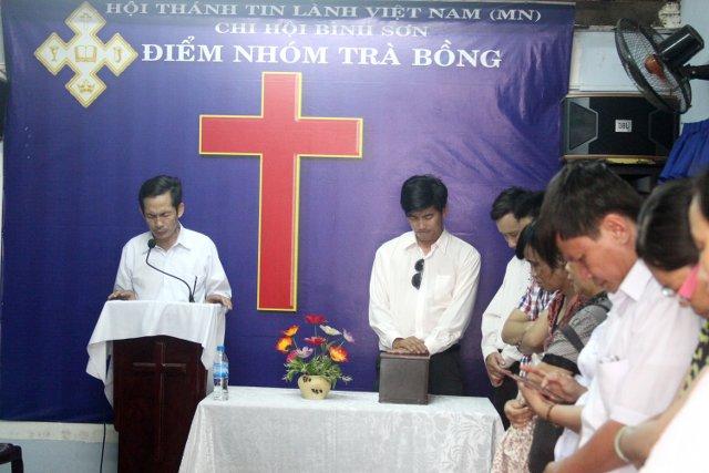 MSNC Ông Văn Tín thăm & cầu nguyện cho Điểm Nhóm.
