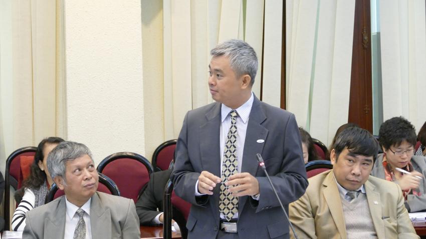 Mục sư – Tiến sĩ Lê Minh Đạt – Giáo sư Trường TKTH Hà Nội, Đại Học Văn Lang.