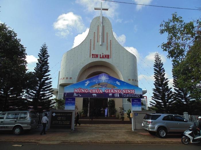 Nhà thờ Tin Lành Ban Mê Thuột.