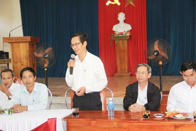 MSNC Ông Văn Tín có lời cảm ơn.