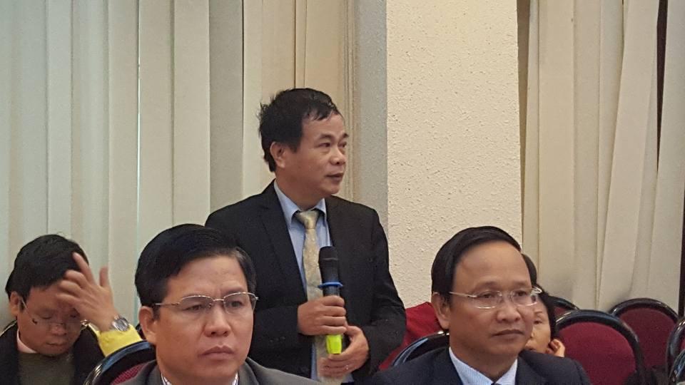 Mục sư -Thạc sĩ Vũ Hồng Thái.