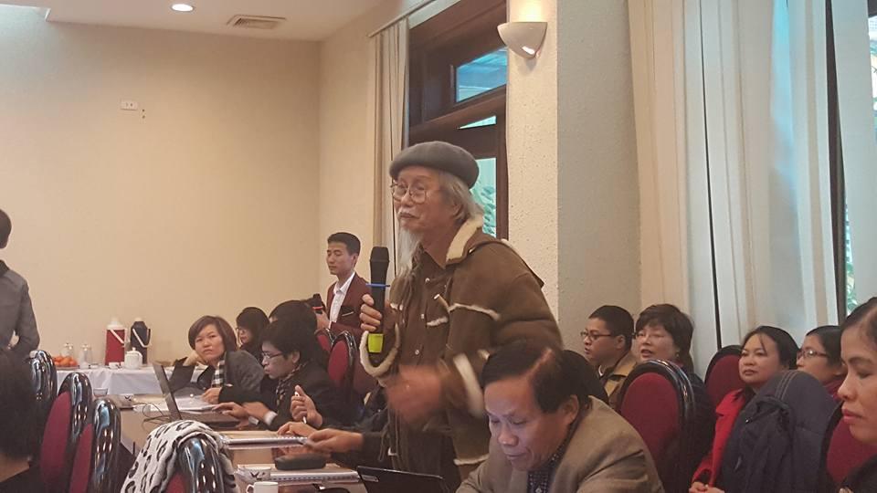 Giáo sư Nguyễn Khắc Mai – Giám đốc trung tâm Minh Triết Việt Nam.