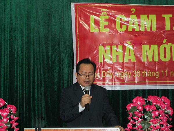 Mục sư Bùi Văn Sản.