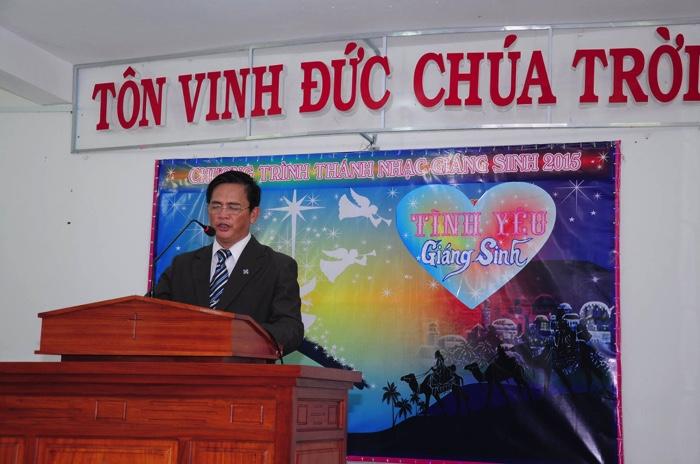 MSNC Trương Ngọc Mạnh quản nhiệm HT Tân Đức.