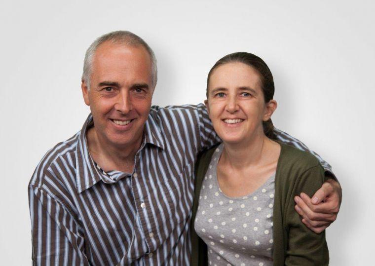 Andrea và Mark Hotchkin vinh hiển danh Chúa qua công việc tận tuỵ và đầy hi sinh của mình.