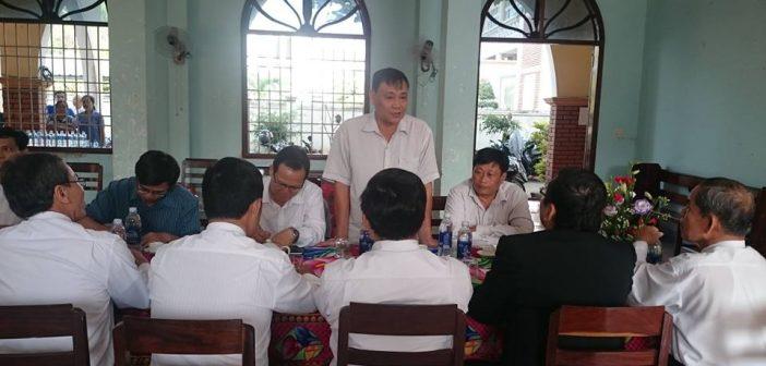 Ban Tôn Giáo Chính Phủ Thăm Và Làm Việc Tại HTTL Phú Phong