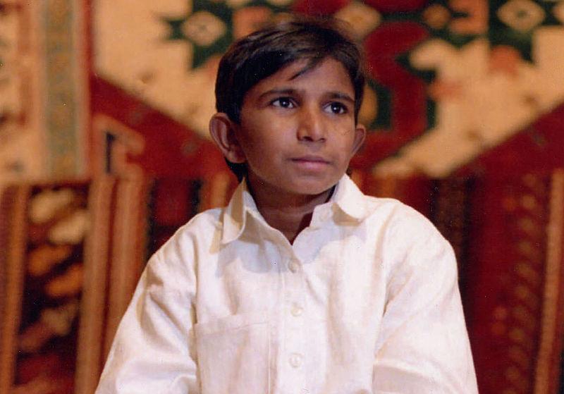 Cậu bé Tim Iqbal Masih.