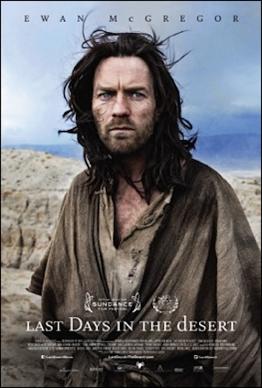 "Poster của ""Last Days in the desert""."