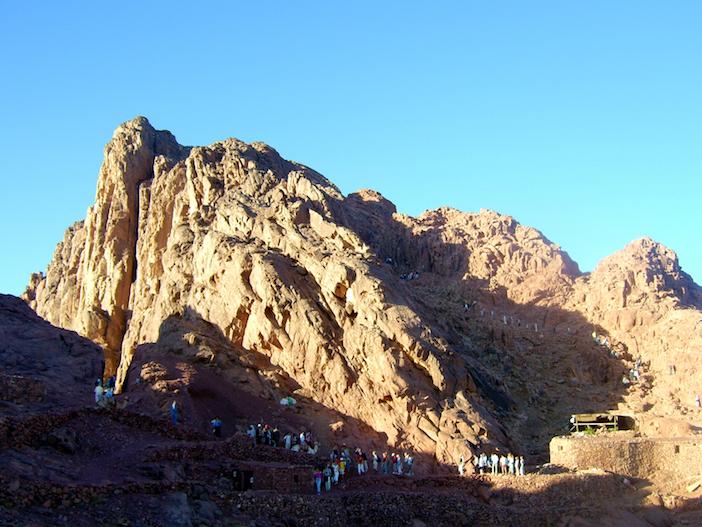 Núi Sinai ngày nay.
