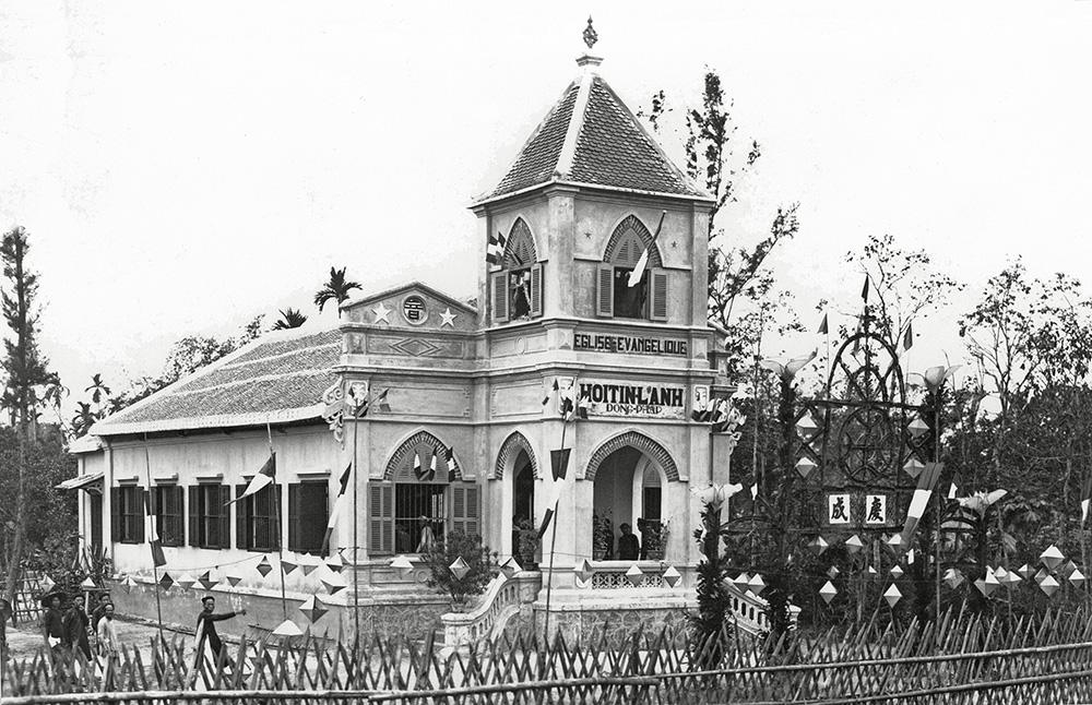 Lễ Khánh thành và Cung hiến nhà thờ TL Tam Kỳ, ngày 20/02/1938 (ảnh sưu tầm trên internet)
