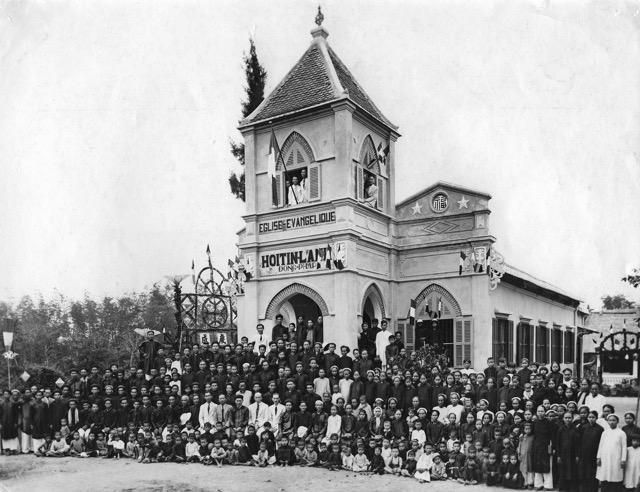 Hội đồng Địa hạt Trung kỳ tại nhà thờ TL Tam Kỳ từ ngày 12-14/04/1941 (ảnh sưu tầm trên internet)
